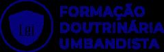 FORMAÇÃO DOUTRINÁRIA UMBANDISTA_LOGO AZUL